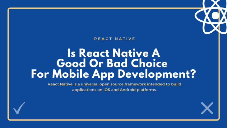 Is React Native A Good Or Bad Choice For Mobile App Development?